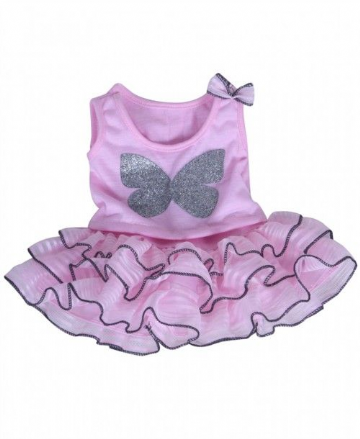 Butterfly Top with Tutu Skirt